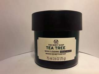 Tea tree night mask