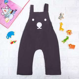 🚚 Instock - bear jumpsuit, spring summer 2018 collection
