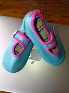 Baby aqua shoes