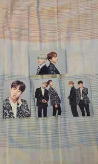 BTS THE WINGS TOUR FINAL PHOTOCARDS