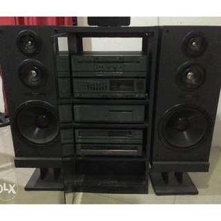 Mitsubishi HiFi Stereo Components System