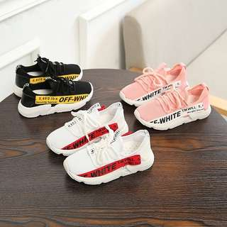 🚚 Off-White Children's Casual Sneaker Breathable Coconut Shoes