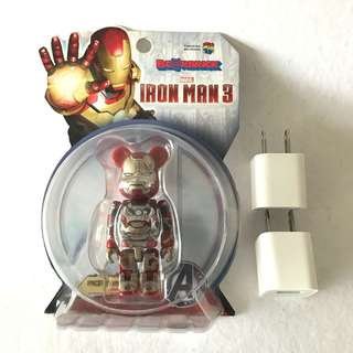 Iron man Bearbrick