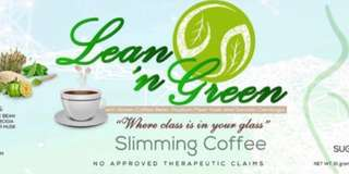 💁🏻‍♀️Lean 'N Green Halal Slimming Coffee