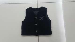 Baby Black Vest (2years)