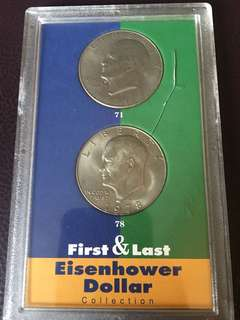 Dollar coin(Eisenhower)