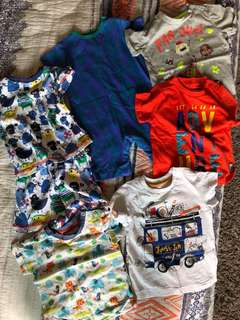 Baby Boy Clothes 6-9 months bundle