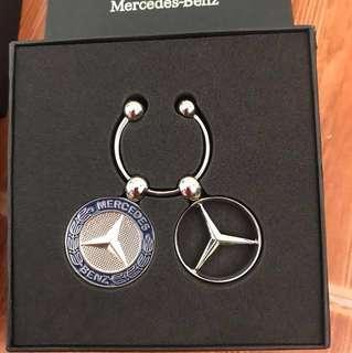 Authentic Mercedes-Benz Classic Key Chain