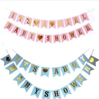 🚚 (In Stock)Baby Shower Banner