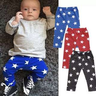 🚚 Instock - star pants, spring summer 2018 collection