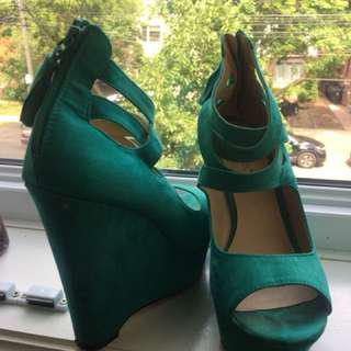 Teal Green Shoes From Shodazzle