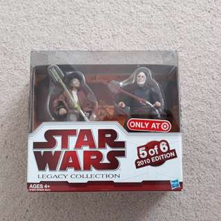 Star wars legacy collection nicanas tassu and count dooku moc