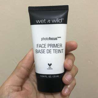 Wet and Wild Photofocus face primer