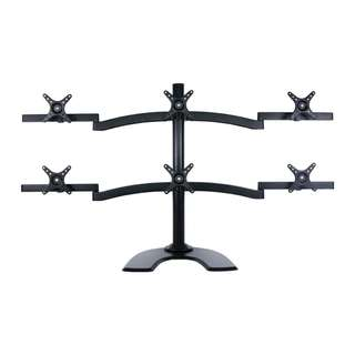 6 monitors arm table free standing stand Whatsapp:8778 1601