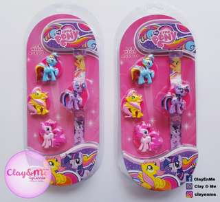 My Little Pony wrist watch (with changeable cover)