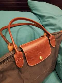 LONGCHAMP classic small bag with long handle