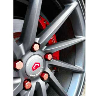 Vossen CVT Directional 18 inches with tyres