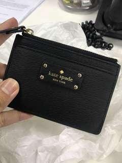 Brand New Kate Spade Card/Cash Zipped Holder (Wallet)