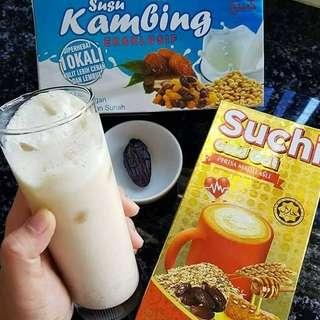 Susu kambing ekslusif/suchi oat