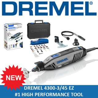 [ NEW PRODUCT ] DREMEL 4300 High Performance Rotary Tool Grinder