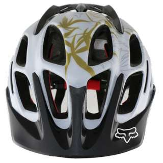GrabMee White Mtb Downhill Bike Helmet
