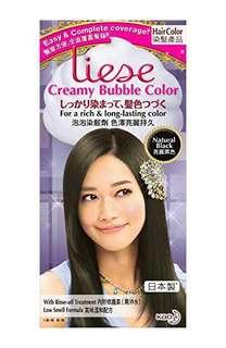 Liese Creamy Bubble Colour black