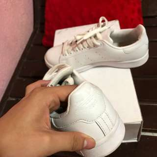 Stan smith all white authentic