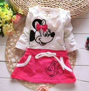 Mickey Mouse baby girl cutie dress