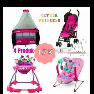 Bundling-box bayi-stroller-baby walker-bouncer