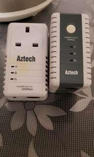 Aztech Homeplug 一對