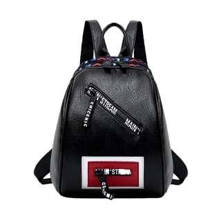 Korean Black Backpack 🌙 #July70