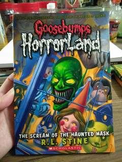 Goosebumps Scholastic