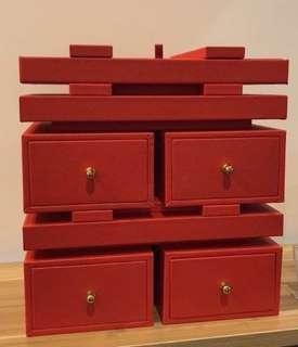 Xi Wedding Jewellery Box, Si Dian Jin Box