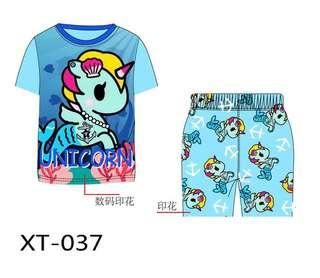 Blue unicorn tokidoki pyjamas