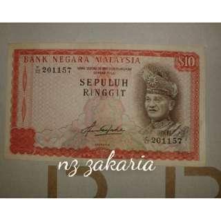 Duit Kertas Lama - RM10