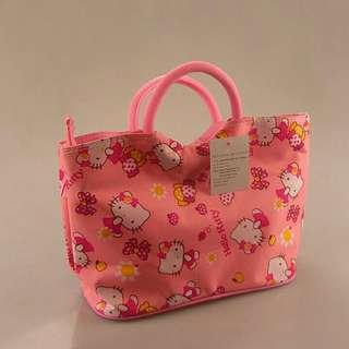 Pinky Hello Kitty Tote Bag