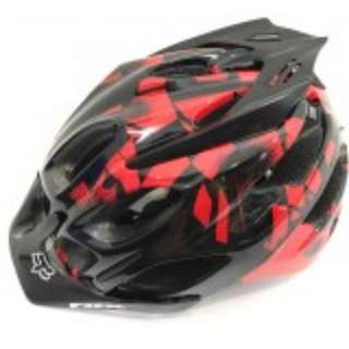 GrabMee Red Flux Downhill Mtb Bike Helmet