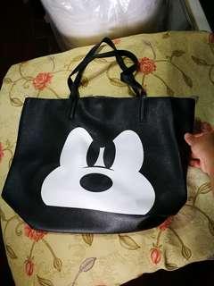 米奇大容量手提包側背包,全新現貨一個,