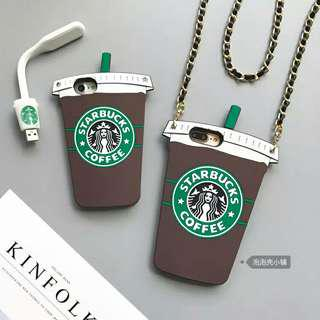(Soft) Inspired Starbucks iPhone Full Cover Casing