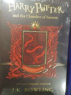 Limited edition Harry Potter 20th anniversary edition books