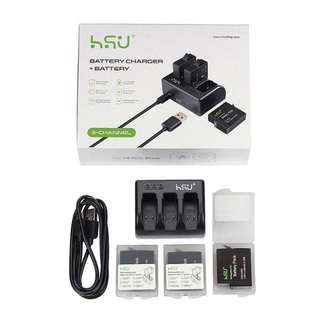 HSU Gopro Hero 6/ 5 battery and charger kit