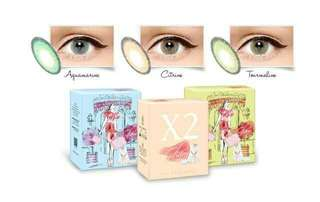 Softlens X2 GLAM Color CITRINE By EXOTICON