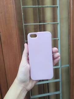 Case 5s Warna Ungu soft