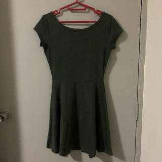 Cotton On Olive Skater Dress