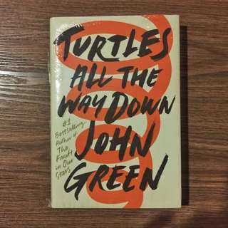 books | Turtles All The Way Down by John Green