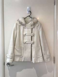 Forever New Hooded Coat