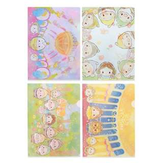 [Ready Stock] Disney Ufufy Beauty and The Beast A4 Folder