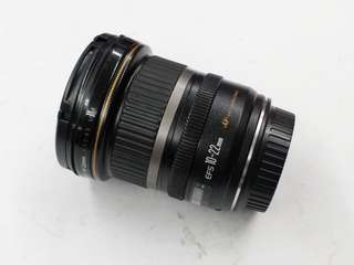 canon efs 10-22mm usm wide lense