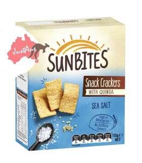 澳洲Sunbites Cracker 藜麥脆片 115 - 120g