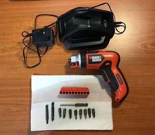 🚚 Cordless screwdriver set
